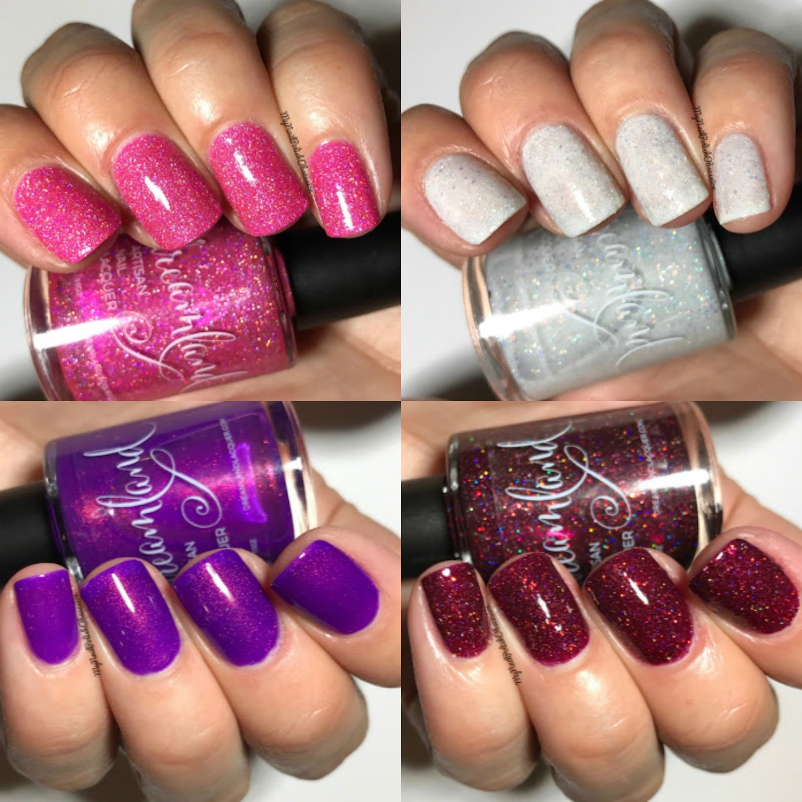 My Nail Polish Obsession: Dreamland Lacquer Valentine\'s Collection ...