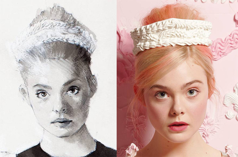 Will Cotton Styles Elle Fanning