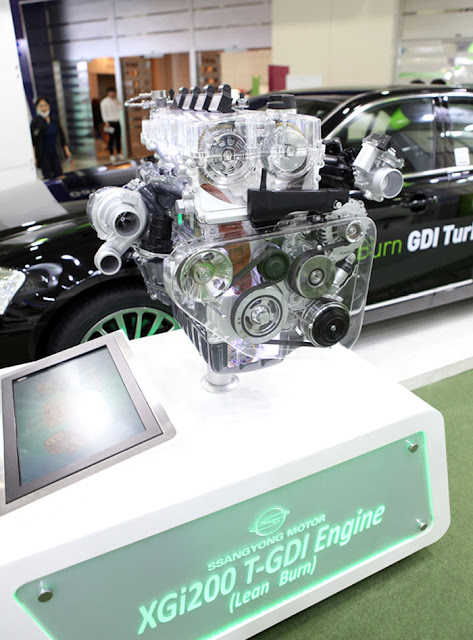 Νέος κινητήρας βενζίνης SsangYong