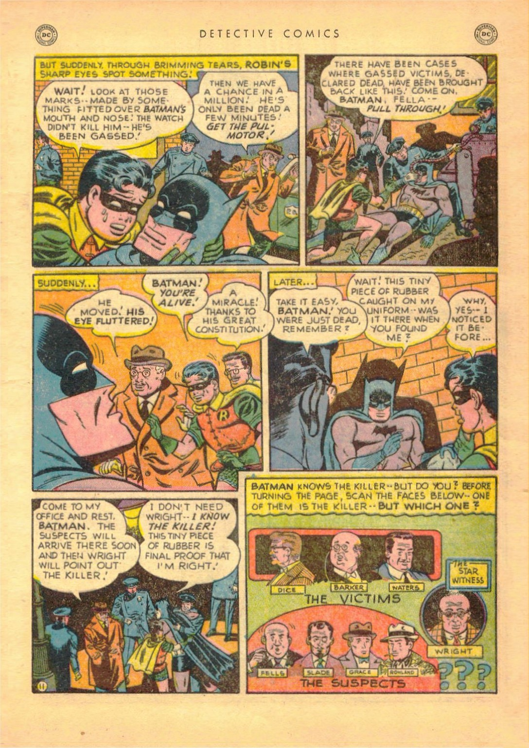 Read online Detective Comics (1937) comic -  Issue #161 - 13