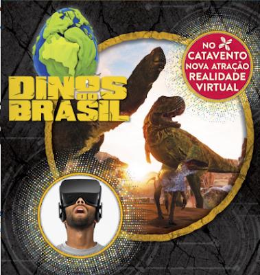 Exposição Dinos do Brasil no Museu Catavento em SP