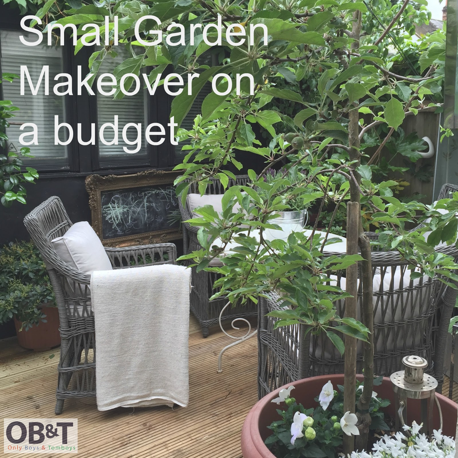Only boys and tomboys small luxury garden makeover on a for Garden makeover on a budget
