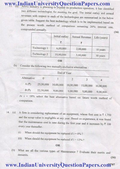 MG2451 Engineering Economics and Cost Analysis April May