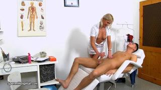 Sperm Hospital - Hot legs Euro MILF doctor Bruna gets cum on tits (2018/HD) [OPENLOAD]