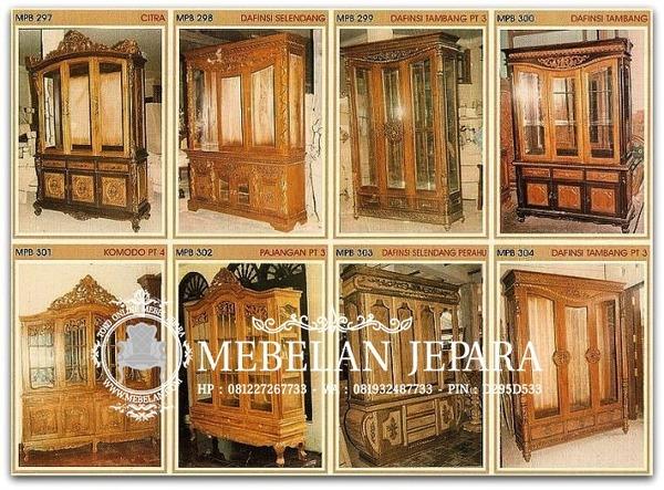Almari Mebel Ukir Jepara MPB 2007-1-5