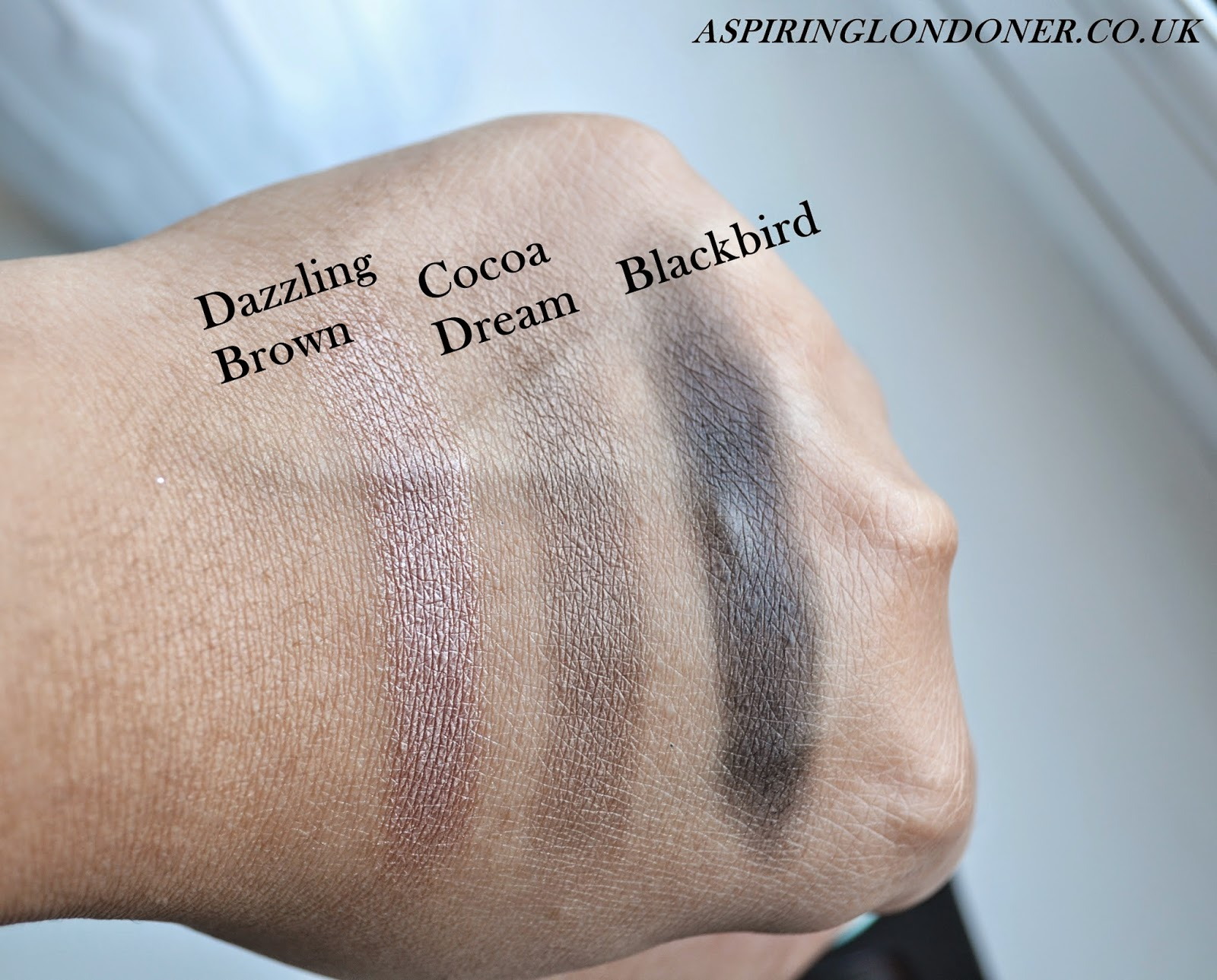 Collection Little Mix All About The Eyes Palette Swatches - Aspiring Londoner