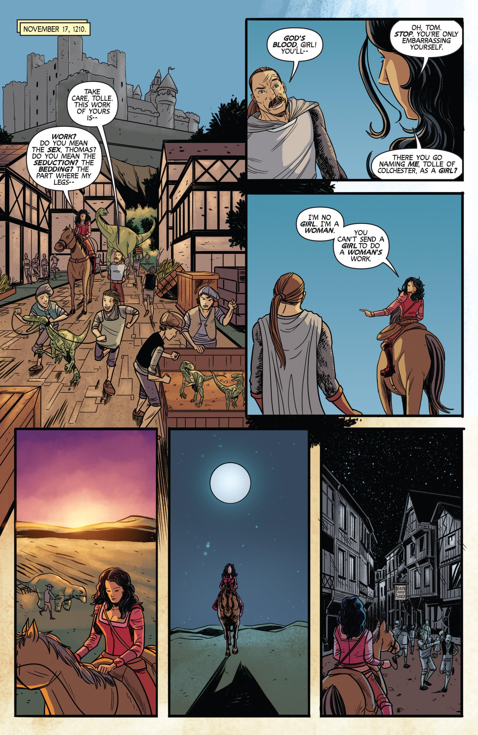 Read online Turok: Dinosaur Hunter (2014) comic -  Issue # _TPB 3 - 59