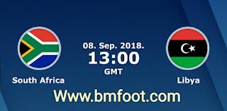 مباراة ليبيا و جنوب افريقيا بث مباشر اليوم كورة اون لاين تصفيات كأس أمم إفريقيا