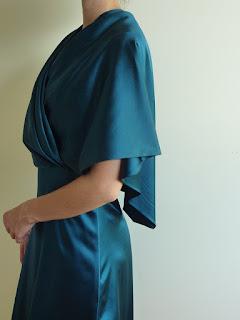 robe de cocktail sur mesure par créatrice mariée à Versailles