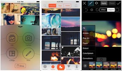 5 Aplikasi Edit Foto Kekinian Terbaik 2017