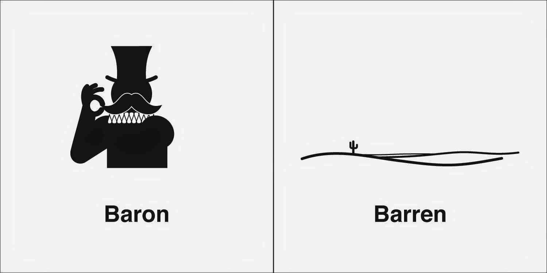Homophones, Weakly: Baron & Barren