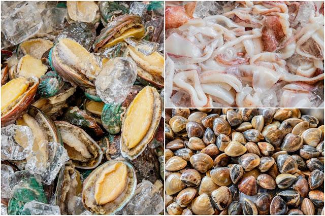 collage2 - 熱血採訪│拼鮮海產泡飯,來吃海鮮吃到怕!點一碗泡飯就能吃2餐,份量遠遠超過佛跳牆的等級啦!