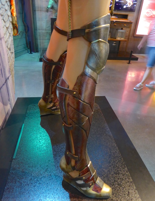 Batman v Superman Dawn of Justice Wonder Woman costume boots