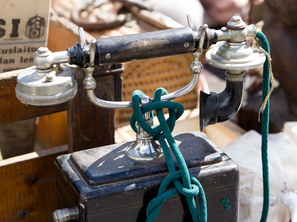 PauMau blogi tapahtumat kesä 2015 rompetori kirppis kirpputori rajamäki nurmijärvi vintage vanha puhelin kenttäpuhelin old telephone