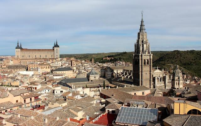 Vista panorámica de la Catedral de Toledo