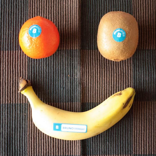 Marcar la fruta con nombre