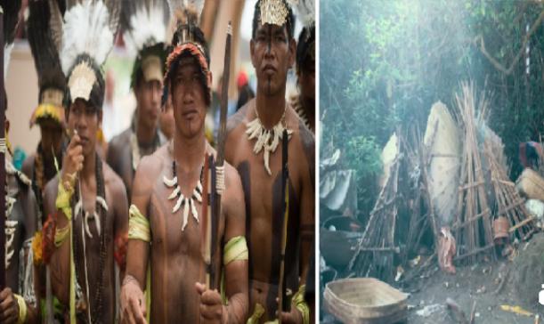 قبيلة أندونيسية تترك موتاها ليتحللون أمام الجميع  والغريب انه لا تخرج لهم رائحة سيئة والسبب