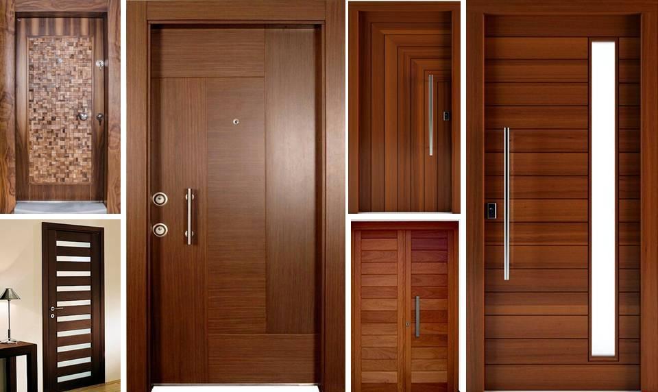 20 Modern Solid Wooden Interior Doors Decor Units