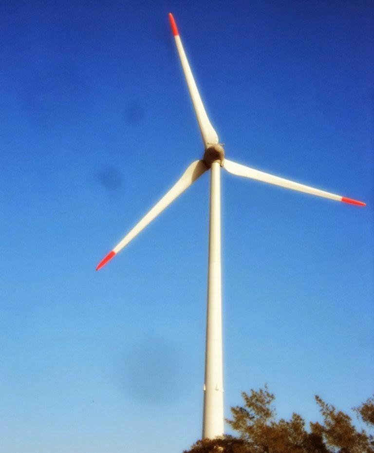 Parque Eólico Cidreira I, em Tramandaí