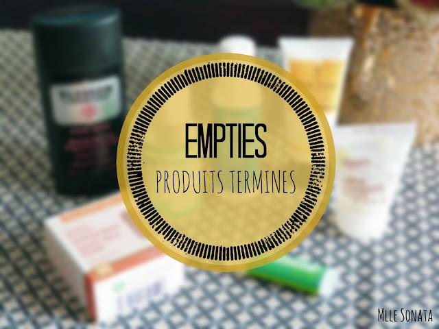 Empties, produits terminés