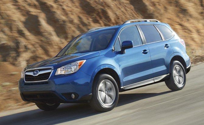 SUV nhỏ tốt nhất: Subaru Forester