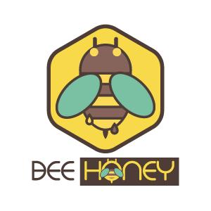 Logo Design, Bee Honey