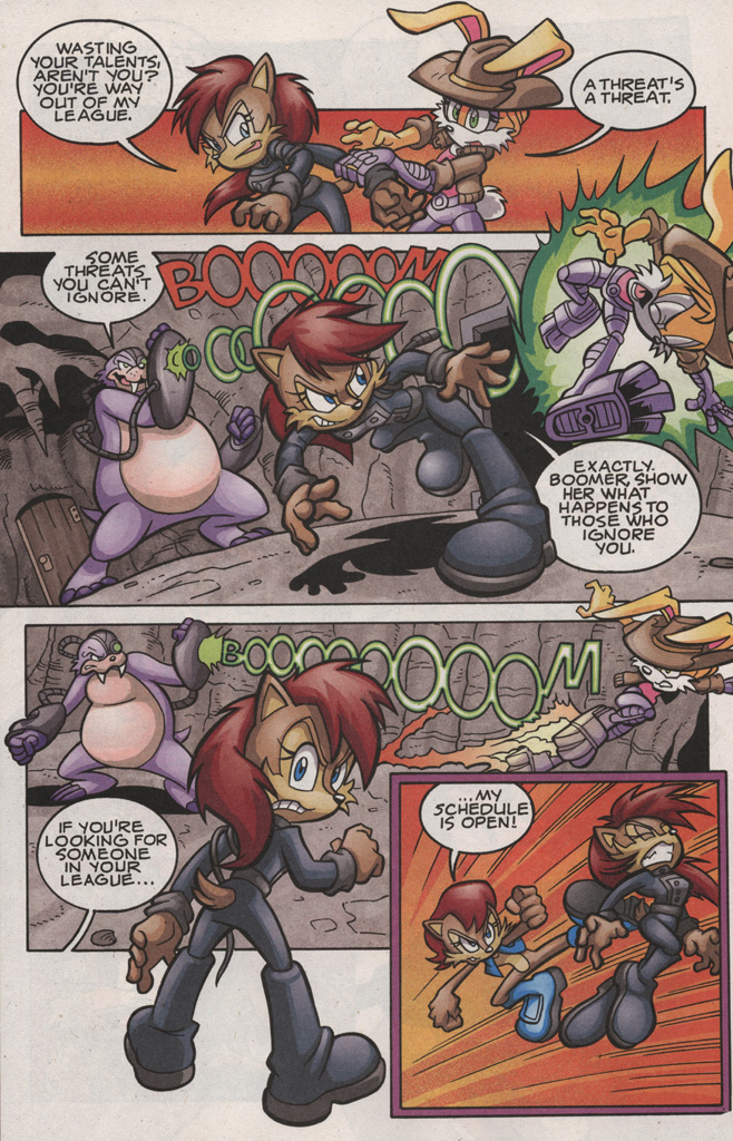 Read online Sonic The Hedgehog comic -  Issue #189 - 12