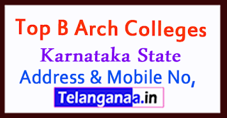 Top B Arch Colleges in Karnataka