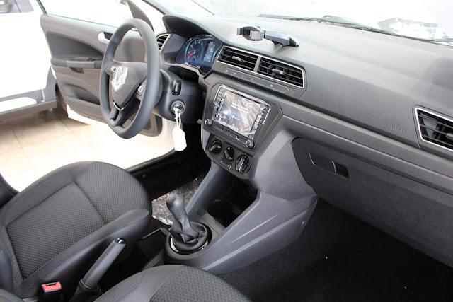 Novo VW Gol 2019 - interior