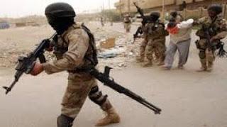 القبض على إرهابي خطير بكمين من قبل القوات الأمنية في ابو غريب في بغداد