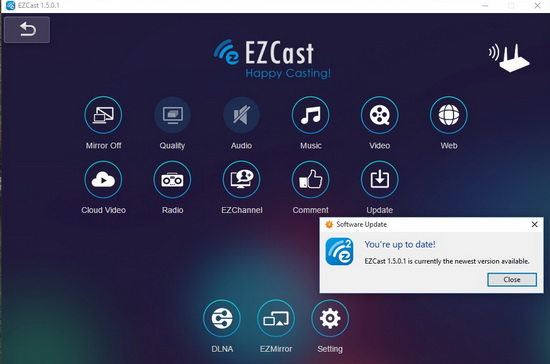ezcast для windows 10 скачать на русском