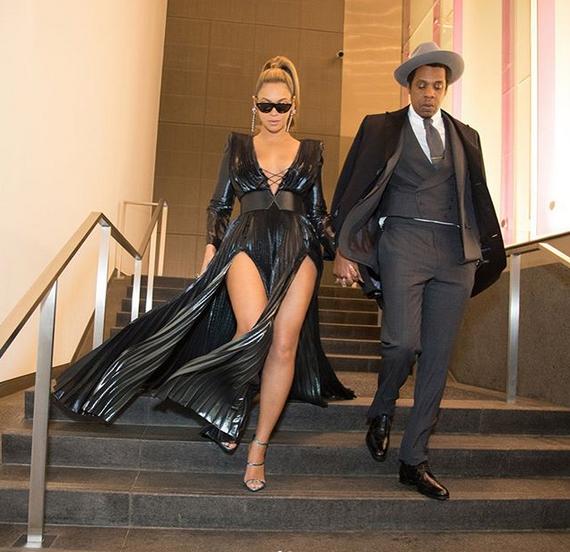 Beyonce-Jay-Z-Roc-Nation-Brunch-Clive-Davis-Pre-Grammy-party