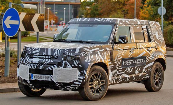 Burlappcar 2020 Land Rover Defender