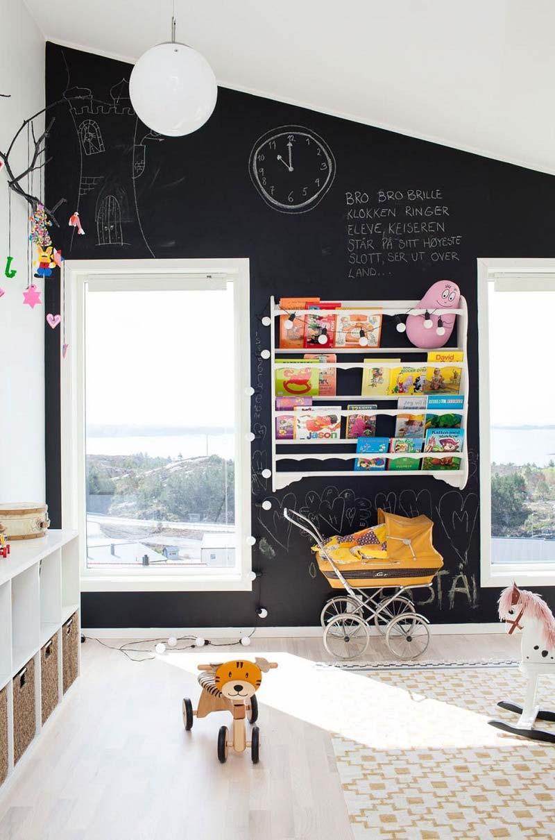 Scrivere sui muri? Con la pittura lavagna si può!