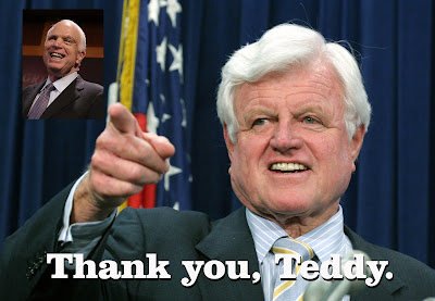 John McCain & Ted Kennedy
