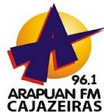 Rádio Arapuan FM de Cajazeiras Paraíba, a melhor rádio da cidade...
