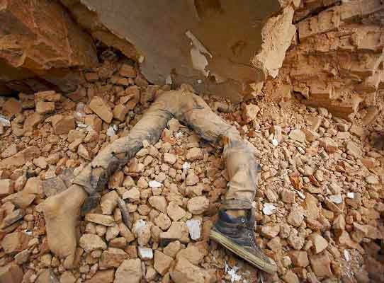 Akibat gempa bumi di Nepal