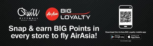 Pelancaran Yasss Raya 2018 di Quill City Mall KL - Jom Shopping Sampai Cun | Shopping Raya dan Dapat Kumpul Big Points Air Asia Sehingga 4X Ganda