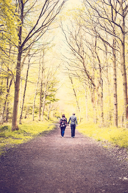 couple in love in chopwell wood, wedding photographer newcastle
