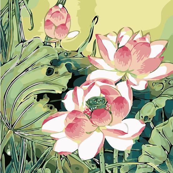 Tranh son dau so hoa o Uy No