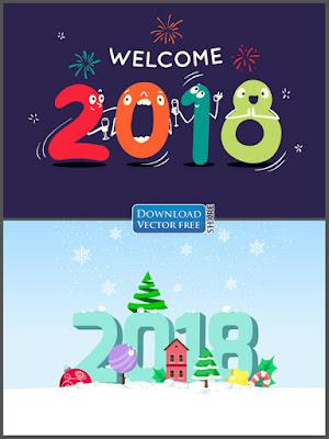 2-nen-do-hoa-chao-mung-nam-moi-2018-new-year-vector-7921