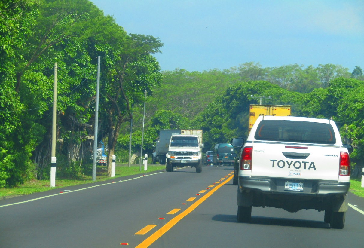 Nueva Carretera Managua Bluefields
