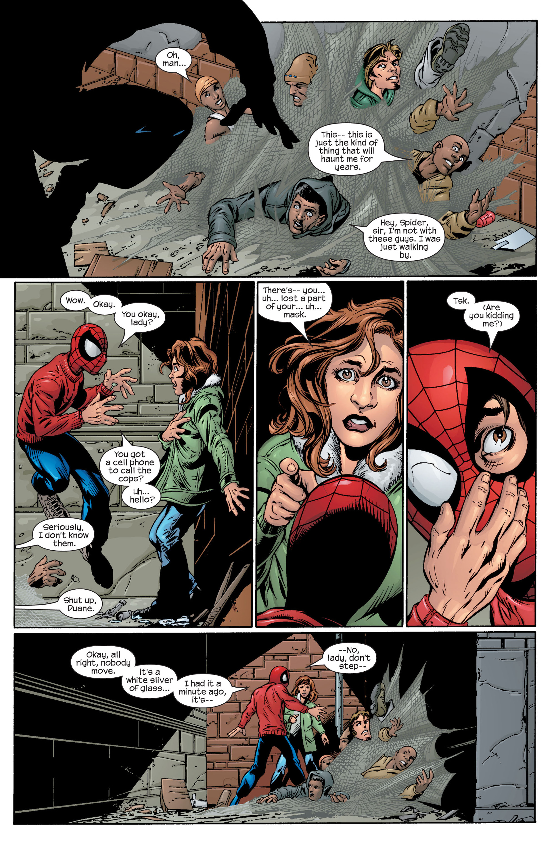 Read online Ultimate Spider-Man (2000) comic -  Issue #40 - 16