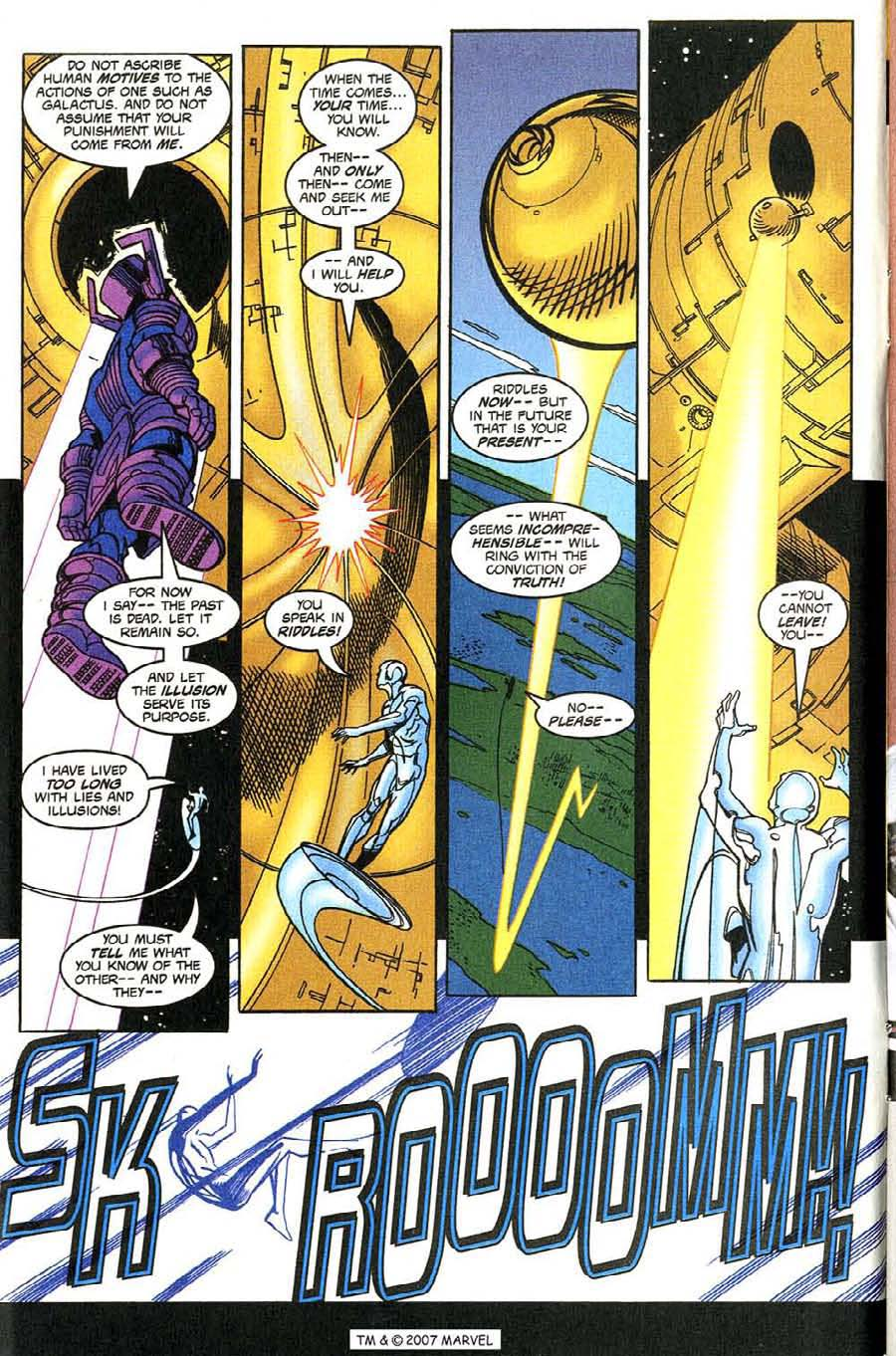 Read online Silver Surfer (1987) comic -  Issue #131 - 8