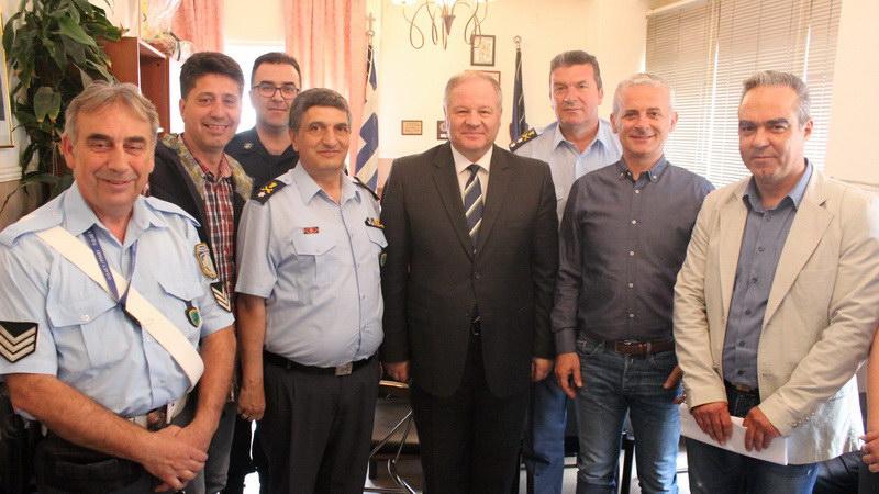 Συνάντηση αστυνομικών της Αλεξανδρούπολης με τον Αρχηγό της ΕΛ.ΑΣ.