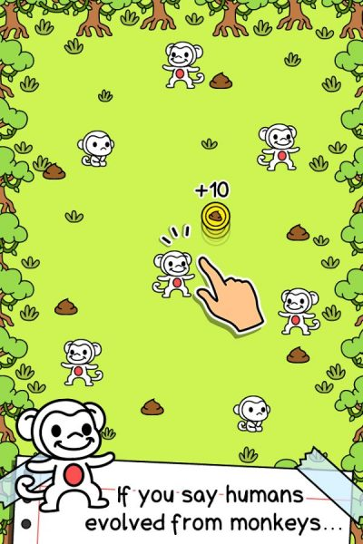 Monkey Evolution – Clicker