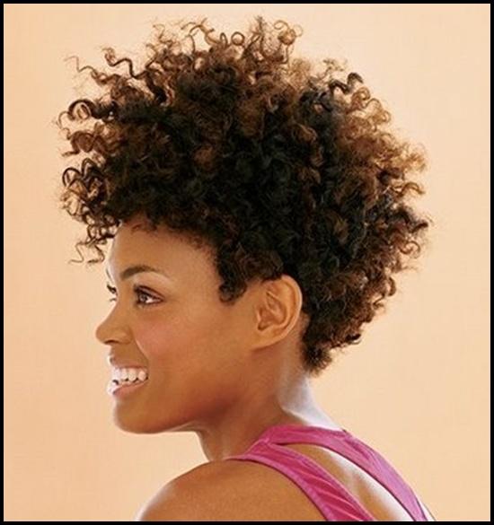 Stupendous 60 Short Curly Hairstyles For Black Woman Stylishwife Short Hairstyles Gunalazisus