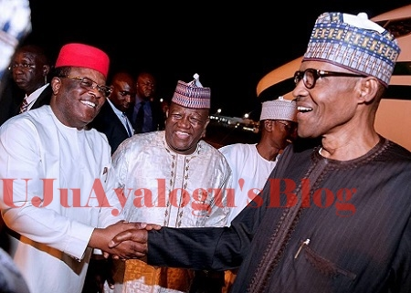 Buhari is my boss, I won't castigate or insult him to prove I am in opposition - PDP governor Umahi