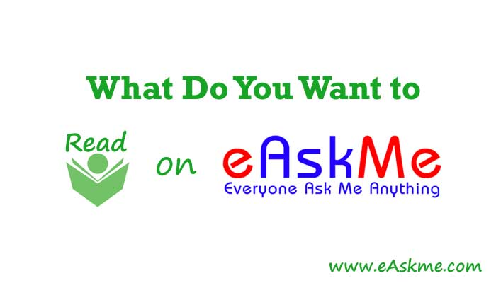 What Do You Want to Read in 2019?: eAskme