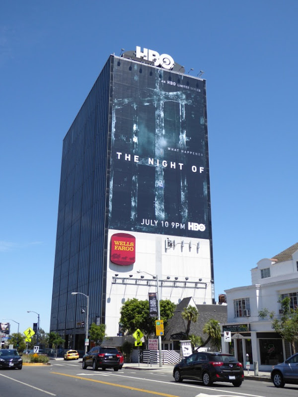 Giant The Night Of billboard Sunset Strip